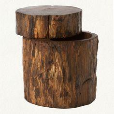 Log jewelry box