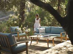 Harmony by Gloster. #OutdoorFurniture #Florida #WestPalm #Patio #Furniture