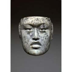 Mask, Gulf Coast Olmec culture, Middle, Formative period, c. 900-500 B.C., Geographic location: Arroyo Pesquero, state of Veracruz, Mexico, North America, Dallas Museum of Art