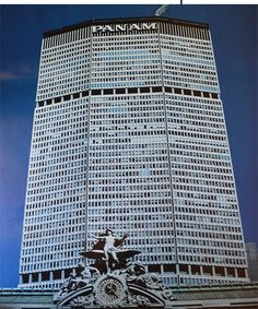 Pan Am Building, New York City, in the 1970s. #Pan Am, #panam #Pan Am building…