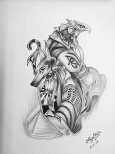God of War, Egypt - God of War, Egypt -You can find Egypt and more on our website.God of War, Egypt - God of War, Egypt - Osiris Tattoo, Horus Tattoo, Anubis Tattoo, God Tattoos, Future Tattoos, Body Art Tattoos, Tattoos For Guys, Arabic Tattoos, Dragon Tattoos