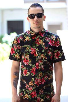 Indie Fashion Men Hawaiian Shirt