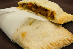 Beef and Vegetable Gluten Free hand Pies using Bob's Red Mill Gluten-Free Pie Crust Mix