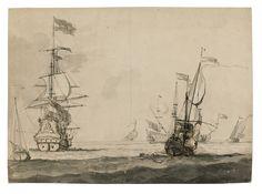 Willem van de Velde the Younger and Studio | lot | Sotheby's