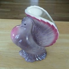 Cute little vintage planter for sale in our Etsy shop. USA