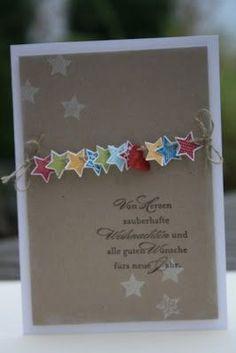 We maken dit jaar onze eigen kerstkaarten, dus je kunt ... #dit #dus #eigen #jaar #je #kerstkaarten #kunt