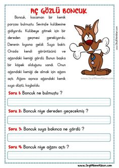 Early Education, Special Education, Turkish Lessons, Learn Turkish Language, Classroom Rules, Class Activities, Reading Passages, Learning, School