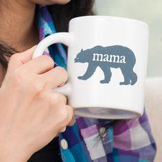 Mama Bear | 11 oz Ceramic Coffee Mug | 15 ounce Coffee Cup by FrankRegards on Etsy https://www.etsy.com/listing/279324076/mama-bear-11-oz-ceramic-coffee-mug-15