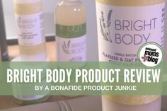 I am a bonafide product junkie. I haven't always been that way, but over the course of my career styling hair, I have definitely become one. So when I was presented the opportunity to review some new, handmade, local skin and hair products, it was a no-brainer. The Bright Body line is a small-batch brand …