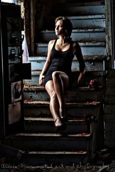 """Illumination"" ☆ Model: Marie-Chantale ☆ Howard Smith Abandoned Paper Mill ☆ Photography: AliciaTransmuted Art and Photography"