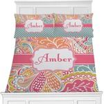 Abstract Foliage Bedding Set (Personalized)
