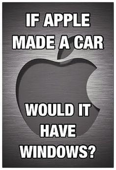 Apple Humor | If Apple Made a Car Would It Have Windows?