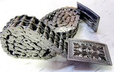 Chain belts from motorcycle chains