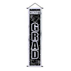 Congrats Grad Velvet-Lame Door Panel (12ct)