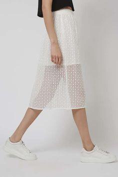 Organza Prom Midi Skirt - Topshop USA