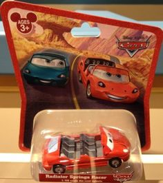 Disney Parks Cars Radiator Springs Racer (Lightning McQueen) 1/55 Scale Die-Cast Vehicle - Disney Parks Exclusive & Limited Availability by Disney. $19.95