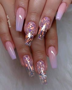 cute acrylic nails 40 Fabulous Nail Designs That Are Totally in Season Right Now - nail art designs,almond nail art design, acrylic nail art, short nail designs with glitter Fabulous Nails, Gorgeous Nails, Pretty Nails, Amazing Nails, Perfect Nails, Stunning Makeup, Pretty Makeup, Aycrlic Nails, Swag Nails