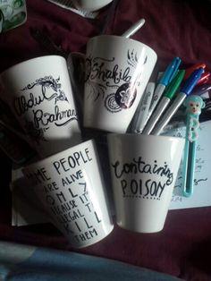 Custom DIY Sharpie mug
