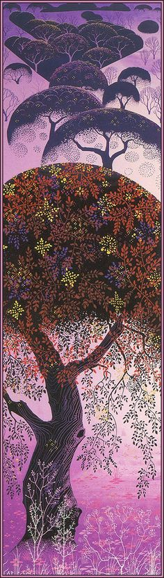 / california tapestry / eyvind earle /