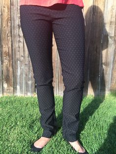 These would look great with a new, bright top! And I love elastic waistbands!!! Stitch Fix- Margaret M Emer Polka Dot Tall Straight Leg Pants