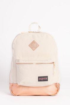 JanSport Super FX Backpack - Rose Gold | Backpacks.Com