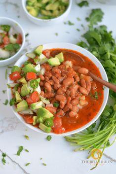 Instant pot best charro beans Vegan Mexican Recipes, Vegetarian Recipes, Cooking Recipes, Ethnic Recipes, Superfood Recipes, Vegan Vegetarian, Salad Recipes, Instant Pot Pressure Cooker, Pressure Cooker Recipes
