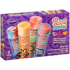 PhillySwirl Swirl Popperz Italian Ice Flavored Squeeze Up Tubes, 3 fl oz, 8 count: Frozen Foods : Walmart.com