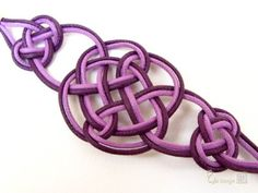 Purplish Single Willow Bracelet by ExoticFlavour on Etsy