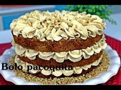 Como fazer um Naked Cake paçoquita delicioso - YouTube