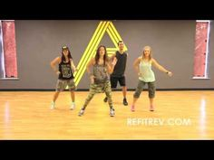 "REFIT® Dance Fitness ""Treasure"" Bruno Mars - YouTube"