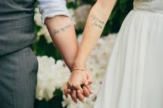 Couples Bon Jovi tattoo living on a prayer