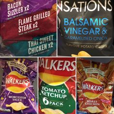 Weird crisps in the UK.   Miss Gail in Scotland & Ireland: Her Favorite Whisky, Food, Stand Up & More
