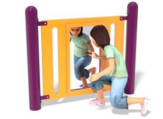 Henderson Recreation Equipment   PlaySteel   Mirror Panel