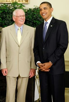 Barack Obama and neil armstrong