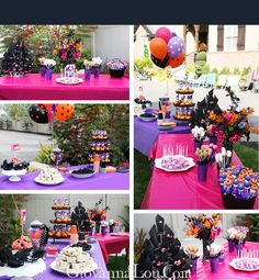 cute halloween bday party!