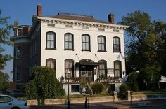 Famous Haunted Places -  Lemp Mansion - St. Louis, MO. Stayed here with my bestie last September:)