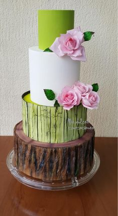 Rustic birthday cake by Asya Vencheva
