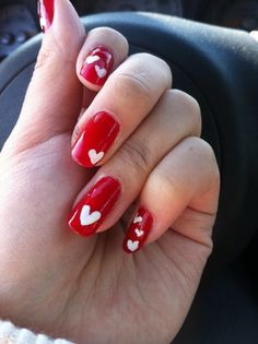 Valentines day nail art inspiration #morninglavender #valentinesday