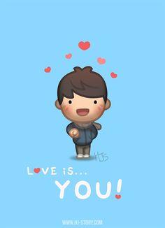 Love is...  YOU!   #HJ-Story.com