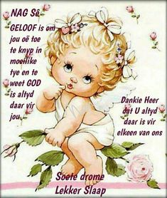 Good Night Prayer, Good Night Blessings, Evening Greetings, Afrikaanse Quotes, Goeie Nag, Christian Messages, Good Night Sweet Dreams, Poems, Jay