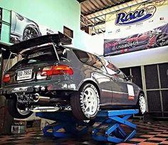 Honda civic estilo #kanjo #racecar #ringroadracer