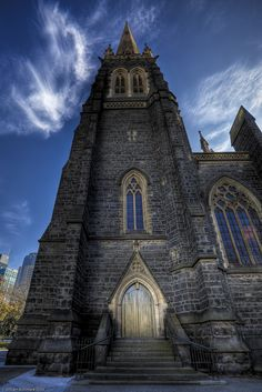 Heavens Above | From St Patrick's Cathdral - Melbourne, Australia