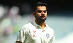 Indian test captain kohli