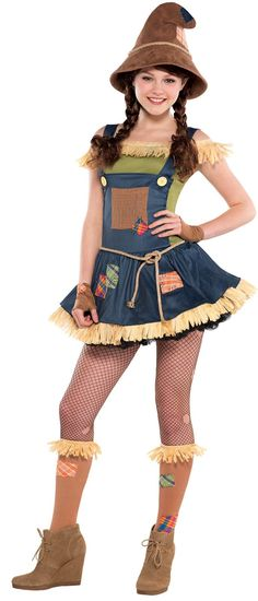 Teen Sweet Scarecrow Costume from Buycostumes.com