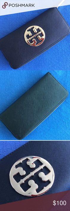 Tory burch wallet Black Tory Burch saffiano wallet Tory Burch Bags Wallets