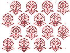 Indian Textile Hand-DrawnPatterns