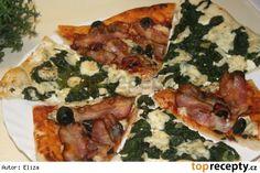 Pizza jako z pizzerie Pitta, Vegetable Pizza, Menu, Chicken, Vegetables, Food, Program, Lasagna, Menu Board Design