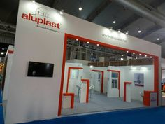 Aluplast GMBH 100 sqm stand design & execute at Acetech Bangalore 2016 by team #UniversalInfotainment Cheers to us & Call 8588840825 if any need of #exhibition stand design.