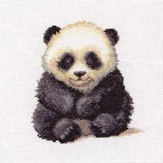 Cute Little Panda - Anchor Cross Stitch kit