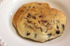 The best homemade chocolate chip pancakes! This is a simple, quick and easy recipe that teaches you how to make delicious pancakes from scratch!
